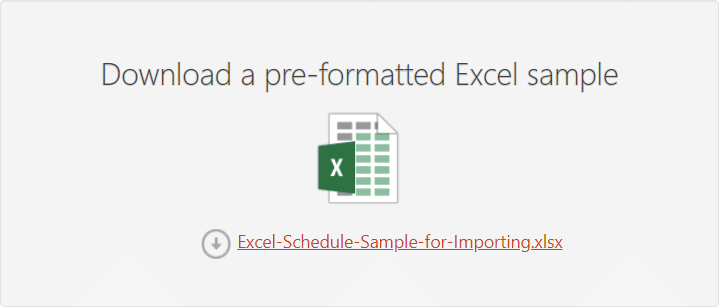 How to import Excel data into Office Timeline Online